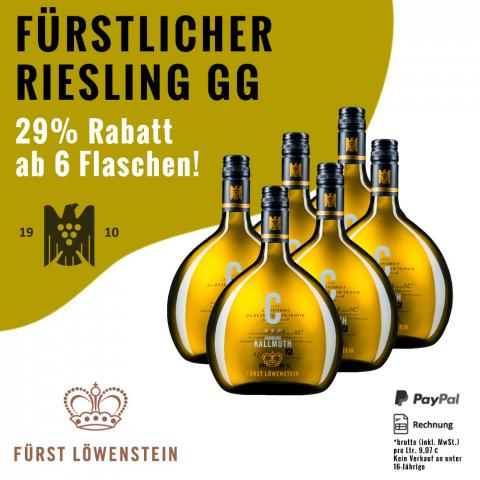 Fürstlicher Kallmuth GG Riesling Coronilla 2015