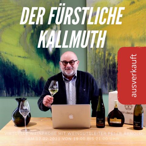 Virtuelle Online Weinprobe 26.02.2021